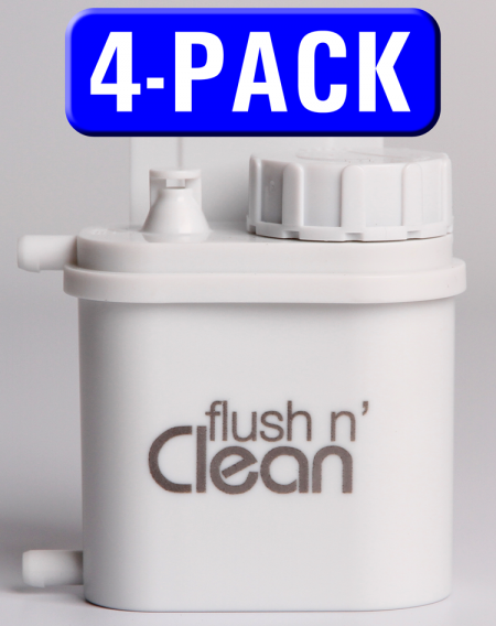 4 Pack Flush N Clean In Tank Toilet Bowl Cleaner Water